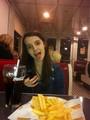 Alyssa At Johnny Rockets!!!!!!!!!