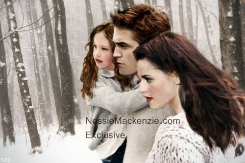 Amazing Manip Bella, Edward and Renesmee