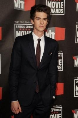 Andrew at The Critic's Choice Movie Awards (January 14th 2011)
