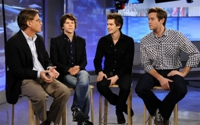 Andrew on The Today Show - January 11th 2011