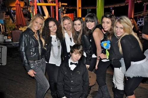 "At Cody Simpson's ""Black, White, and Fly"" 14th Birthday Party"