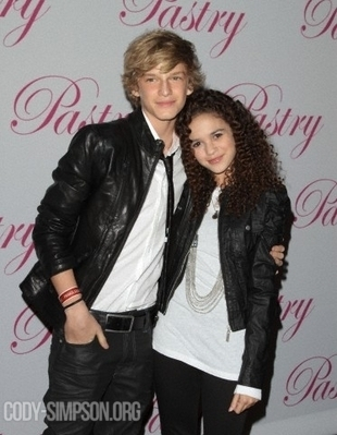 """At Cody Simpson's """"Black, White, and Fly"""" 14th Birthday Party"""