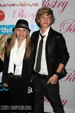 """At Cody's """"Black, White, and Fly"""" Party"""