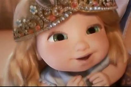 baby repunzel from tangled 