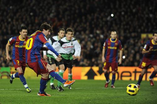 Barcelona - Racing Santander (La Liga)