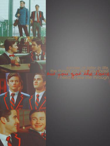 Blaine & Kurt