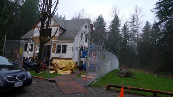 Breaking Dawn Filming News: dia 5 Of The Construction Of Bella's House!