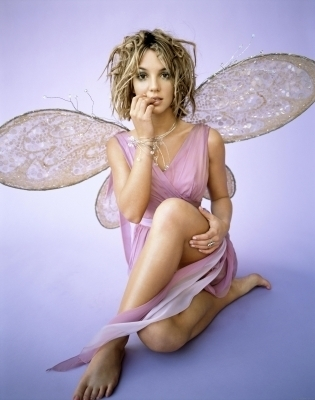 Brit as fairy (thank anda flowerdrop)