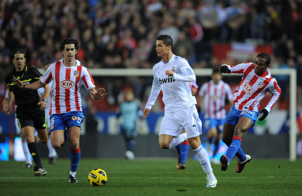 Real Madrid vs Atletico Madrid Copa del Rey final match, 17 May 2013 final