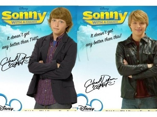 Chad Dylan Cooper Autograph Season 1 and 2