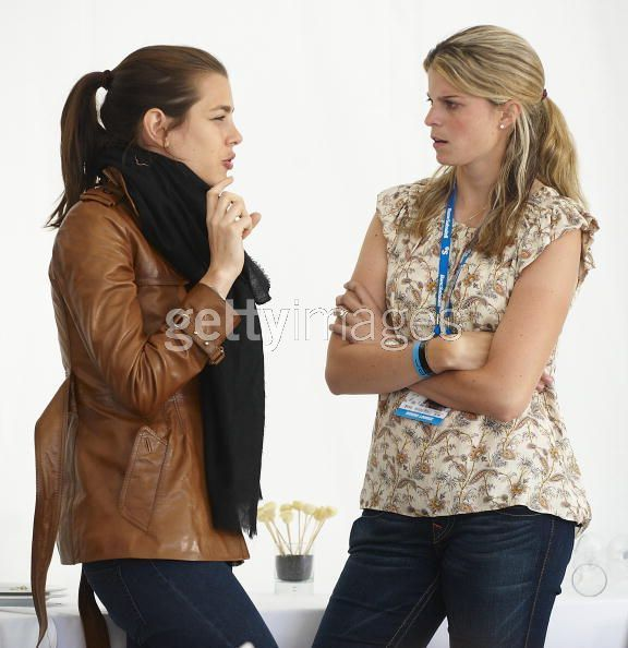 charlotte Casiraghi and Athina Onassis de Miranda