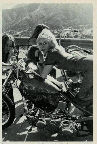 Cherie in 'Choppers' Magazine - October 1976
