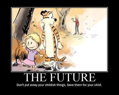 Clavin and hobbs future - calvin-and-hobbes Fan Art