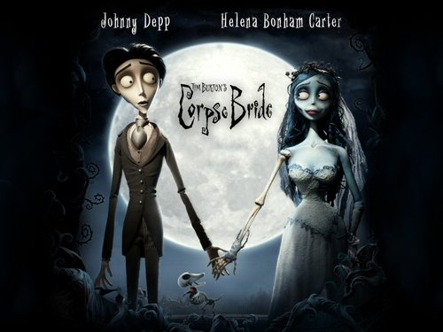 Tim burton kertas dinding probably containing Anime called Corpse Bride kertas dinding