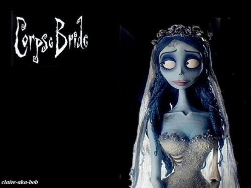 Tim برٹن پیپر وال called Corpse Bride پیپر وال