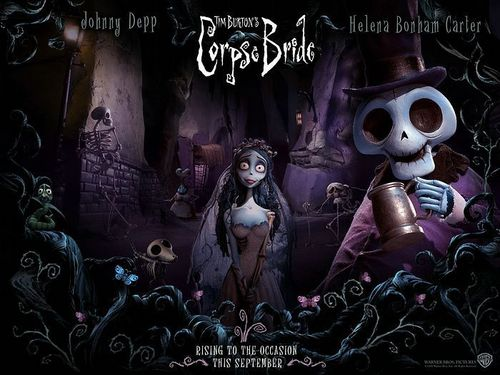 Tim Burton wallpaper probably containing anime titled Corpse Bride wallpaper