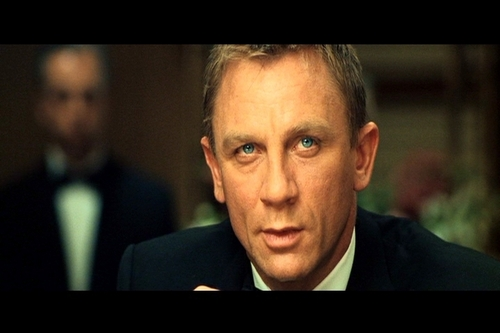 "DANIEL CRAIG AS AGENT 007/JAMES BOND IN ""CASINO ROYALE"""
