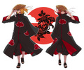 Deidara and Sasori - akatsuki photo
