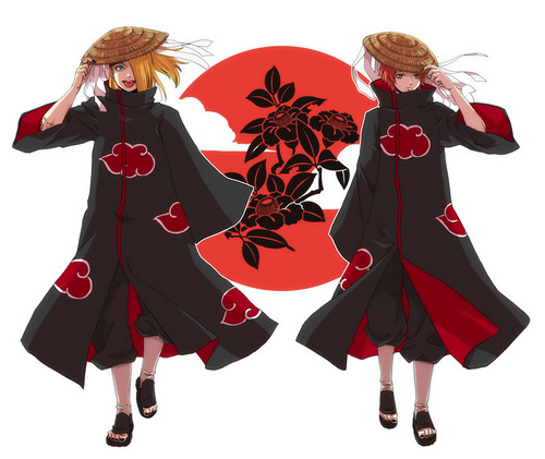 Deidara and Sasori