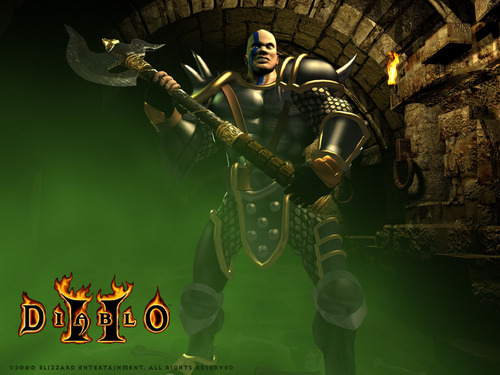 Diablo 2 kertas dinding
