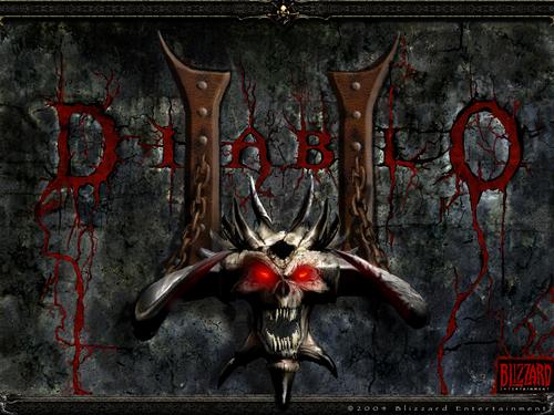 Diablo 2 karatasi la kupamba ukuta