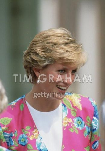 Diana At Clarence House