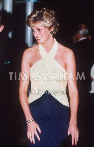 Diana Premiere Catherine Walker Dress