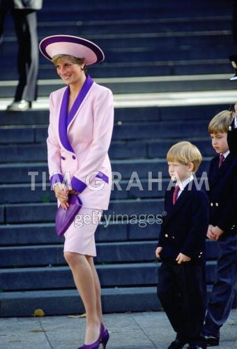 Diana William & Harry St Pauls Cathedral