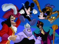 Disney Villians , Minnie & Mickey