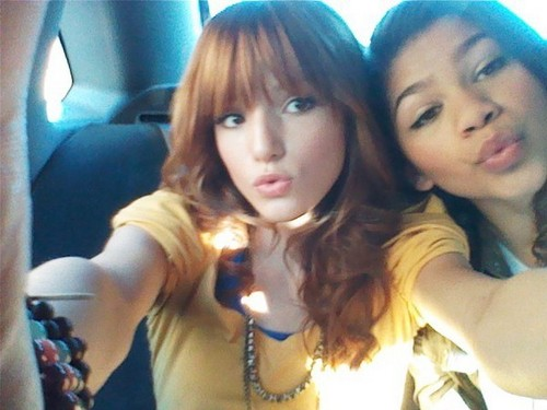 Disneyland With The Cast Of Shake It Up And Dani Of Course!!