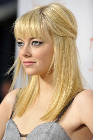 emma stone zombieland haircut. tattoo When Emma Stone#39;s
