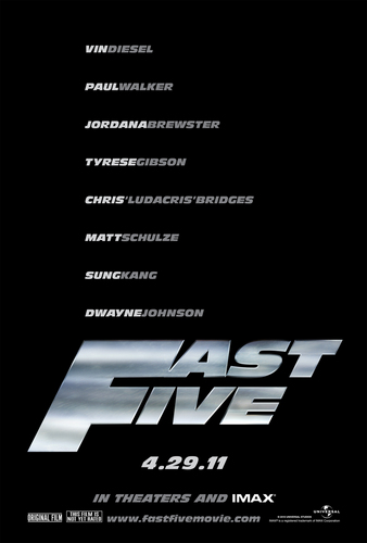 Fast Five Poster (2011)