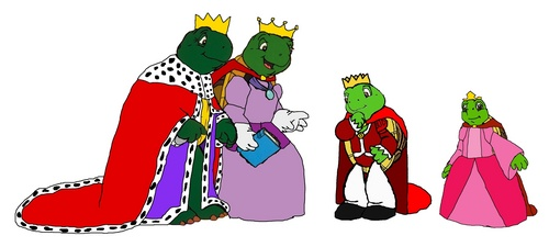 Franklin and his family - Royalty