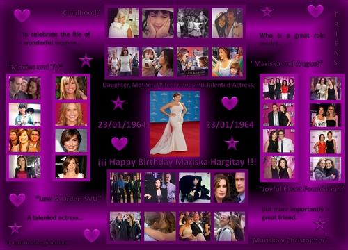 Happy Birthday Mariska Hargitay
