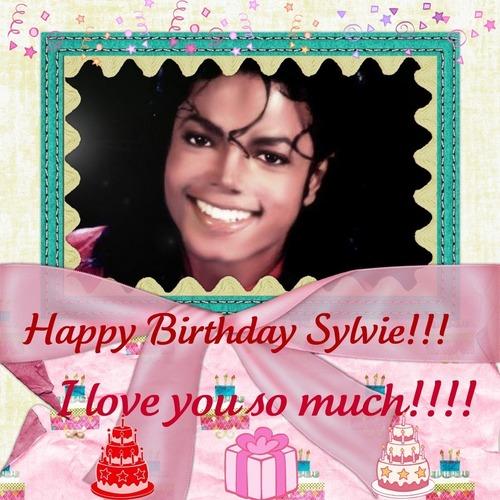 Happy Birthday Sylvie!!!!!!