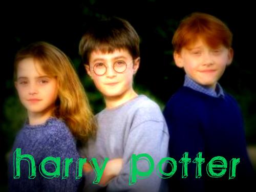 Harry Potter Trio!