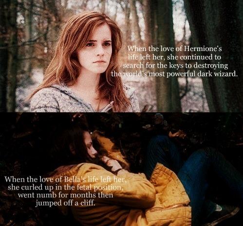 Harry Potter, Twilight