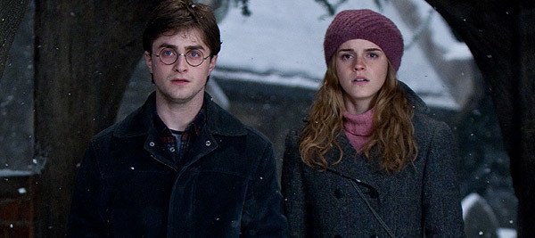 Harry and Hermione DH