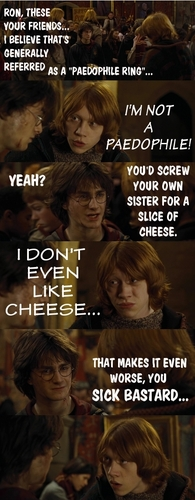 Harry vs. Ron :D