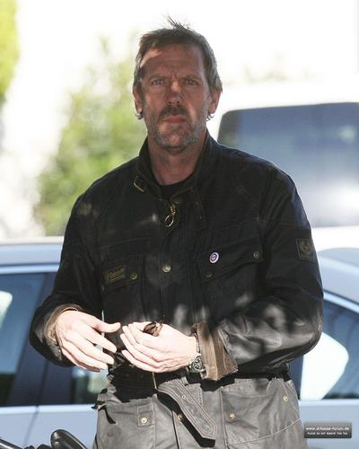 Hugh & Lisa wallpaper probably containing a rifleman called Hugh Laurie taking a ride in LA