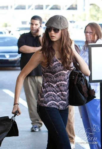 Ian & Nina at LAX Airport 23 january