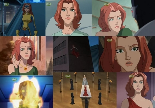 Jean Grey collage