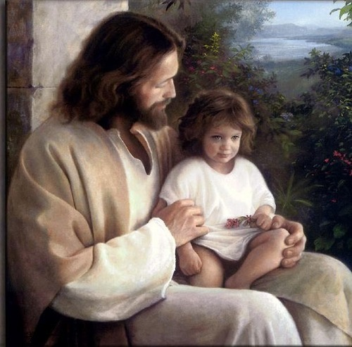 Jesus and the child