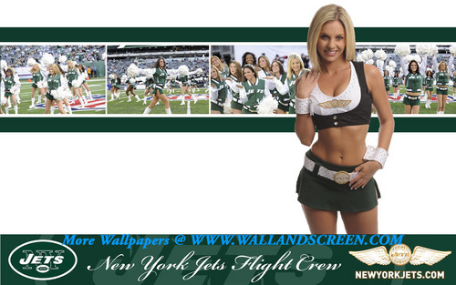 NFL Cheerleaders images Jets Flight Crew Sara HD wallpaper and background photos