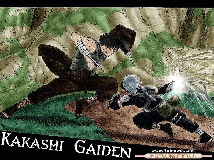 Wallpaper Kakashi Gaiden