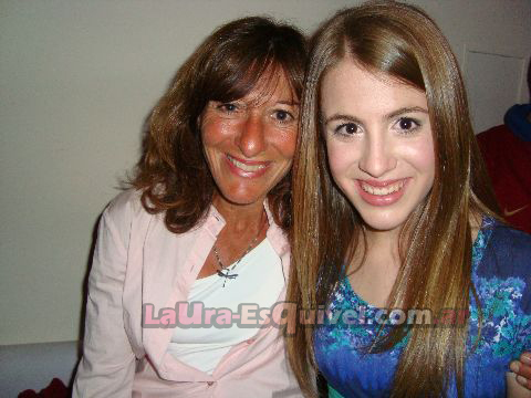 Laura With Her Mom