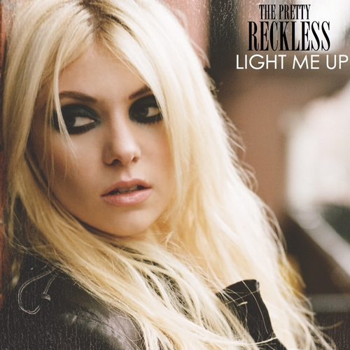 The Pretty Reckless wallpaper containing a portrait titled Light Me Up [FanMade Album Cover]