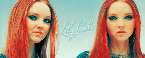 Lily Cole wallpaper probably containing a portrait entitled Lily C.