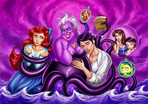 Little Mermaid vs Ursula