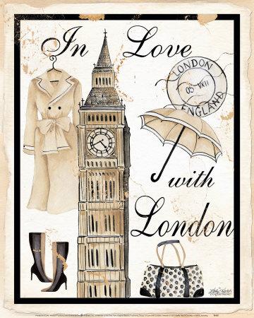 Luân Đôn Sunny's Favourite City